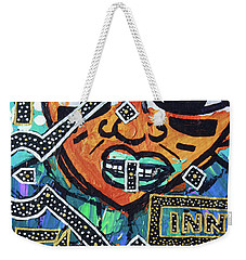Under The Lights Weekender Tote Bag