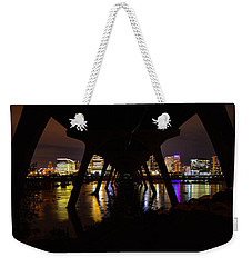 Under The Manchester Bridge Weekender Tote Bag