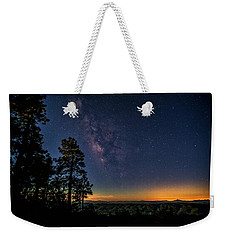 Weekender Tote Bag featuring the photograph Under The Milky Way  by Saija Lehtonen