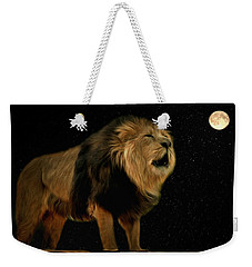 Under The Moon Weekender Tote Bag
