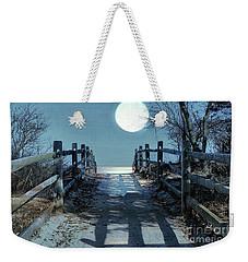 Under The Moonbeams Weekender Tote Bag