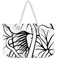 Under The Night Leaves Weekender Tote Bag