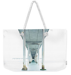 Under The Ocean Beach Pier Early Morning Weekender Tote Bag