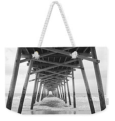 Under The Pier Weekender Tote Bag by Betty Buller Whitehead
