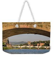 Under The Ponte Santa Trinita Weekender Tote Bag