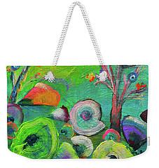 under the sea  - Orig painting for sale Weekender Tote Bag