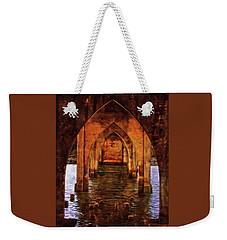 Under The Siuslaw River Bridge Weekender Tote Bag by Thom Zehrfeld