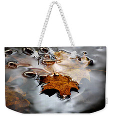 Under Water Fall Weekender Tote Bag
