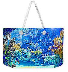 Under Water Weekender Tote Bag