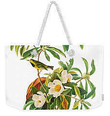 Weekender Tote Bag featuring the photograph Undercover by Munir Alawi