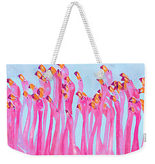 Underdressed Weekender Tote Bag by Jane Schnetlage