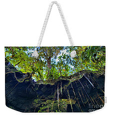 Weekender Tote Bag featuring the photograph Underground by DJ Florek