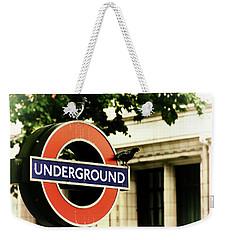 Underground Weekender Tote Bag