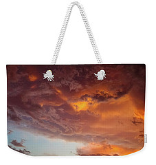 Underneath The Storm Weekender Tote Bag
