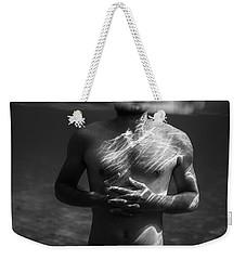 Underwater Chest Weekender Tote Bag