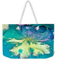 Underwater Flower Abstract 10 Weekender Tote Bag by Lorella Schoales
