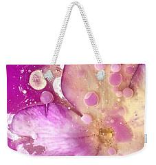 Underwater Flower Abstract 8 Weekender Tote Bag by Lorella Schoales