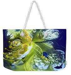 Underwater Flower Abstraction 2 Weekender Tote Bag by Lorella Schoales