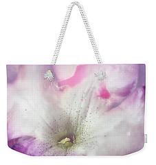 Underwater Flower Abstraction 9 Weekender Tote Bag by Lorella Schoales