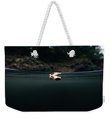 Underwater Leaf Weekender Tote Bag