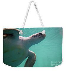 Underwater Race Weekender Tote Bag