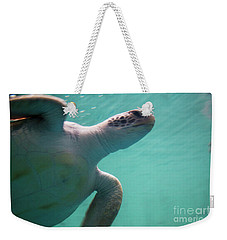 Underwater Race Weekender Tote Bag
