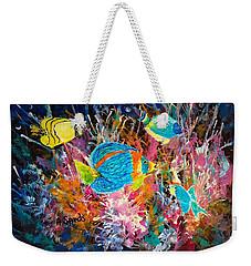 Underwater Sea Life Weekender Tote Bag
