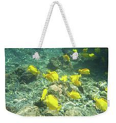 Underwater Yellow Tang Weekender Tote Bag