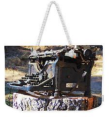 Underwood 2 Weekender Tote Bag by Timothy Bulone