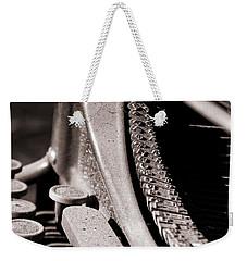 Underwood 3 Weekender Tote Bag by Timothy Bulone