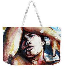 Undressed Male Figure From Europe  Weekender Tote Bag