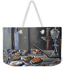 Une Coupe A Gingembre En Cristal De La Patisserie Royale A Maastricht Weekender Tote Bag