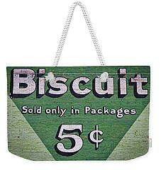 Uneeda Biscuit Vintage Sign #2 Weekender Tote Bag by Stuart Litoff