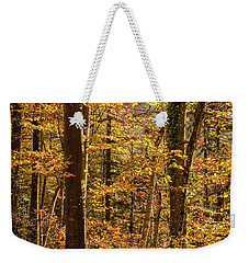 Weekender Tote Bag featuring the photograph Unfallen by Geoff Smith