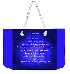 Unfettered Weekender Tote Bag