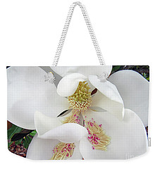 Unfolding Beauty Of Magnolia Weekender Tote Bag