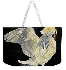 Unfolding Drama Weekender Tote Bag