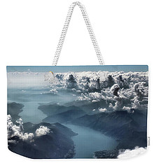 Weekender Tote Bag featuring the photograph Unfolding by Jim Hill