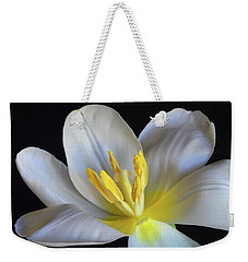 Unfolding Tulip. Weekender Tote Bag