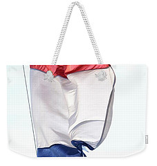 Weekender Tote Bag featuring the photograph Unfurl 01 by Stephen Mitchell
