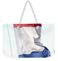 Weekender Tote Bag featuring the photograph Unfurl 03 by Stephen Mitchell