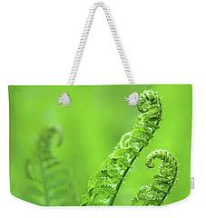 Unfurling Fern Fronds Weekender Tote Bag