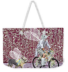Unicorn And Doggie Fairies Weekender Tote Bag