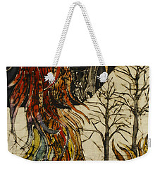 Unicorn And Phoenix Weekender Tote Bag