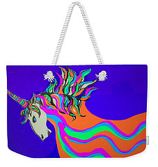 Unicorn For Candy Weekender Tote Bag