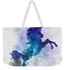 Unicorn Weekender Tote Bag by Rebecca Jenkins