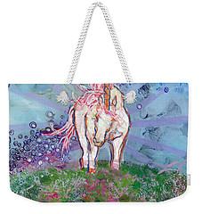 Unicorn Tears Weekender Tote Bag by Kimberly Santini