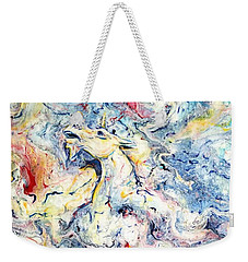 Unicorns And Rainbows  Weekender Tote Bag