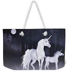 Unicorns In The Mist Weekender Tote Bag