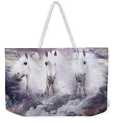 Unicorns Of The Mountains Weekender Tote Bag